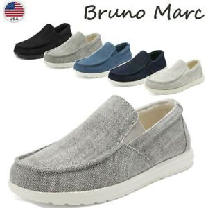 Men's Sneakers Slip On Loafer Shoes Walking Shoe Canavas Casual Shoe Size US