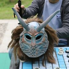 US! Movie Black Panther Halloween Cosplay Mask Erik Killmonger Full Latex Helmet