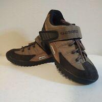 Shimano SH-M038w Cycling Shoe Trail Mountain Bike Cleats Brown Mens US 7 EU40