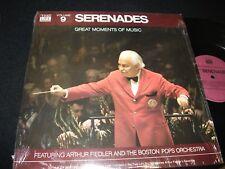 ARTHUR FIEDLER<>SERENADES° TIME LIFE N0.9<>LP Vinyl~USA Pressing<>STLS -6009-J