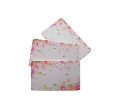 Jewellery Display Cards Earring Studs Small Dangles ~ 5cm x 3cm   Flower