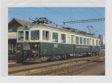 SWITZERLAND        GFM - Freiburger Bahnen railcar # 4/4 161 in 1983