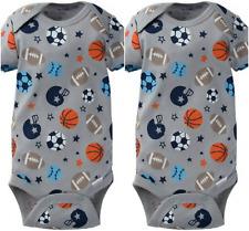 Gerber Onesie Brand Baby Boys 2 Pack Onesies Size Newborn Sports Design