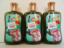 Bath Body Works SWEET ON PARIS Shower Gel, 10 oz./295 mL, NEW x 3