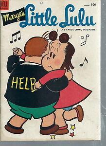 ND-027 - Marge's Little Lulu Comic March 1954 No 69, Wheaties Bob Davies Vintg