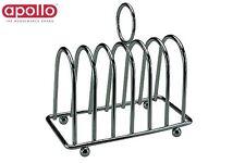 Apollo Chrome Toast Rack Silver Kitchen Storage Utility Home New