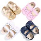 Newborn Baby Girl Summer Kids Shoes Soft Sole Crib Prewalker Toddler Anti-Slip