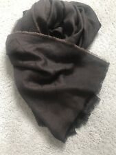 Gucci Genuine Scarf Light Wool Silk GG jacquard knitted with Web RRP £240