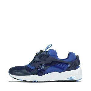 Puma Disk Blaze Updated Core Spec Men's Trainers Shoes in Blue