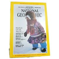 Vtg National Geographic Magazine Volume 163 No 2 February 1983 Mint Condition