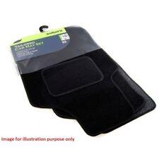 Ford Focus Titanium 05-11 Sakura Tailored Deluxe Carpet Car Mats 4 Pieces Black