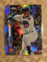 2020 Topps Chrome Refractor Silver Robel Garcia RC #181 Chicago Cubs Rookie