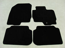 Mitsubishi Colt 2009-13 Fully Tailored Deluxe Car Mats in Black