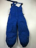 KIDS CHILDS RODEO SPORTS AT C&A BRIGHT BLUE SNOW WINTER SKI SKIING SALOPETTES