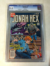 JONAH HEX #13 CGC 9.4 WHITE PAGES, 1978, WESTERN, RAILROAD BLASTER