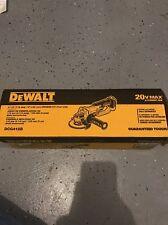 """Dewalt DCG412B 20V Cordless Angle Grinder 4-1/2"""" 20 Volt NEW Cut Off Tool"""