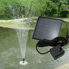 Solar Panel Power Water Pumps For Fountain Pool Pond Garden Plant Aquarium Hot