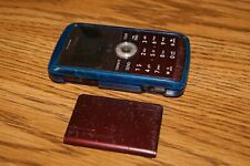 2 Verizon Cell Phones LG enV3 VX9200 Red Maroon+Black/dark Grey Calif Fast SHIP