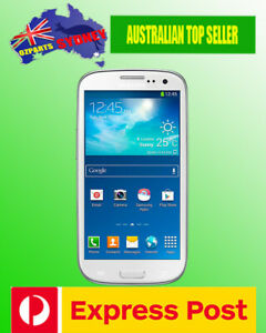 NEW Samsung Galaxy S3 4G Android GT-i9300 Unlocked Smartphone White AUS Stock