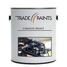 Black Semi Gloss Satin Car Truck Petrol Resistant Chassis Paint - 5 Litre
