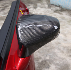 Carbon fiber side door rear view wing mirror cover For Lexus RC 200t/300/350H