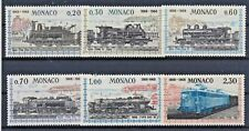 Monaco 896/01 postfrisch / Eisenbahn (8233) ....................................