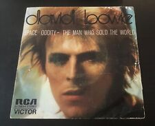 """DAVID BOWIE  - SPACE ODDITY / THE MAN WHO SOLD THE WORLD VINYL 7"""" SPAIN"""