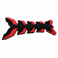 Coloured 3D Motorcycle Racing Design Tank Protector Fuel Tank Sticker Decal ASB