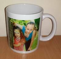 NEW Personalised ceramic mug any photo or text printed complete with box
