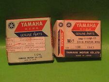 YAMAHA YDS5 250cc TWIN 1967 PISTON RING SETS 4TH OS. OEM #156-11610-40