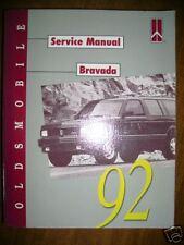 1992 Oldsmobile Bravada Service Manual