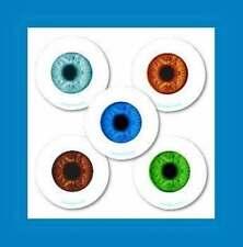 16 Glow in the Dark Eyeball Eye Stickers Party Favors