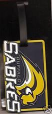 NHL Buffalo Sabres Bag Tag ID Tag Rubber Luggage Travel Tag