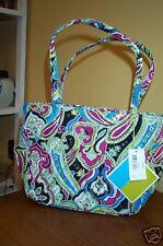 New Vera Bradley Retired Rare Limited Edition Silk Paisley Bella Bag