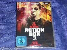 Action Box 3 mit 3 Filmen auf 2 DVD - z.B. Stallone. Swayze und Garner -300 Min