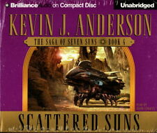 Audio book - Scattered Suns by Kevin J Anderson    -      CD