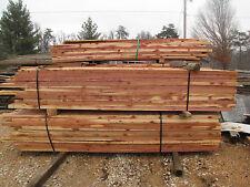 500 bf 4/4 fresh cut CEDAR LUMBER WOOD BOARDS {nice color}