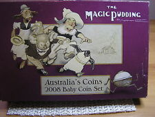2008 Australia's Baby Proof Coin Set - Magic Pudding Series:C/V $125