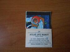 figurina ATLAS UFO ROBOT n.74-nuova serie ed.EDIERRE 1978 Album e figurine non sportive Collezionismo