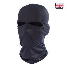 BALACLAVA BLACK MASK  WINTER Motorbike Motorcycle Cycling ARMY STYLE  SKI UK