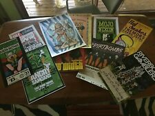Rock Music Posters 00's - gig memorabilia - 12 different bands $10 each