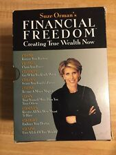 SUZE ORMAN'S FINANCIAL FREEDOM CREATING TRUE WEALTH NOW, CD, 9-DISC SET