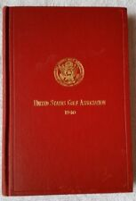 1940 United States Golf Association (USGA) Yearbook (HC)