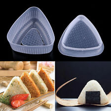 1x Triangle Form Mould Sushi DIY Onigiri Rice Ball Bento Press Maker Mold Tool