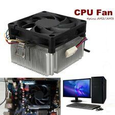 Alu CPU Lüfter Kühler 4-pin cooler für Sockel AM2/AM3 mit Kühlkörper AMD  J