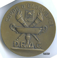 5650 - MEDAILLE DEPORTES . REFRACTAIRES