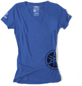 Factory Effex Yamaha Women's T-Shirt Girls Womens Motorcycle ATV/UTV