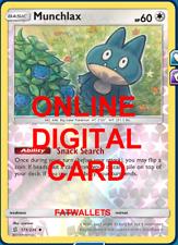 1X Munchlax 173/236 Unified Minds Pokemon TCG Online Digital Card