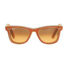 Ray-Ban Wayfarer Acetate Frame Orange Gradient Lens Unisex Sunglasses RB2140