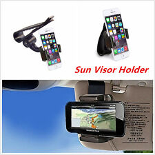 Universal Car Sun Visor Phone Mount Bracket Holder For iPhone Samsung Galaxy